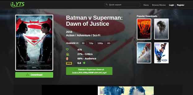 Batman vs. Superman Ultimate Edition YIFY