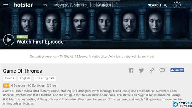 How to Watch Game of Thrones in India