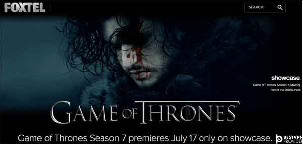 how to watch game of thrones in Australia