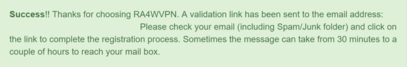 RA4W VPN Login