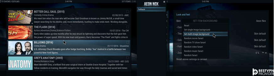 aeon nox kodi krypton version 17 skin