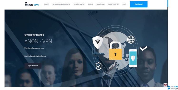 anonvpn website review