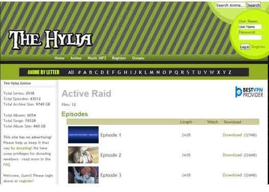 thehylia.com is fourth nyaa alternative