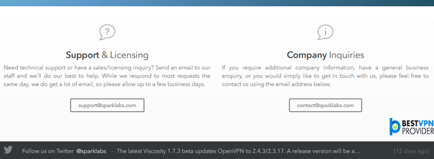 Viscosity VPN Customer Review