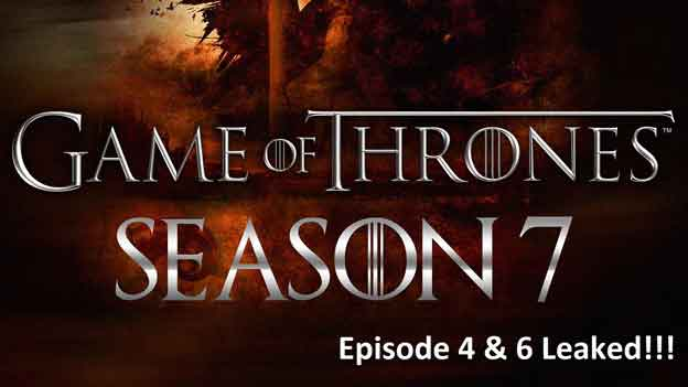 Watch Game of Thrones Season 7 Leaked Episode 6 Live Online Streaming Free