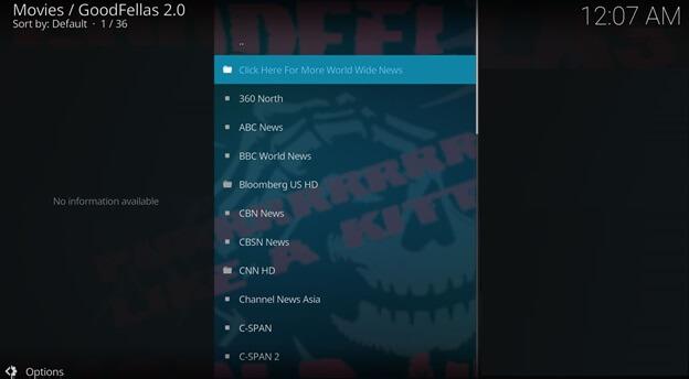 cnn kodi HD
