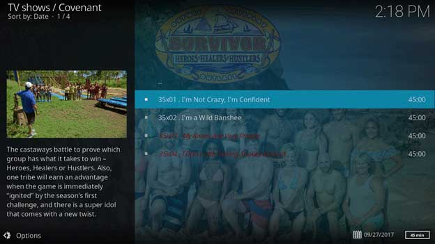 How to Watch Survivor on Kodi