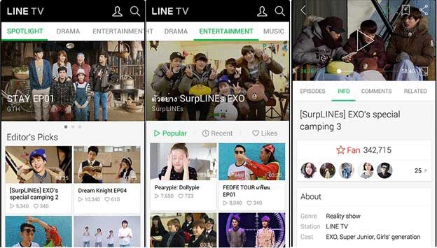 Download LINE TV App
