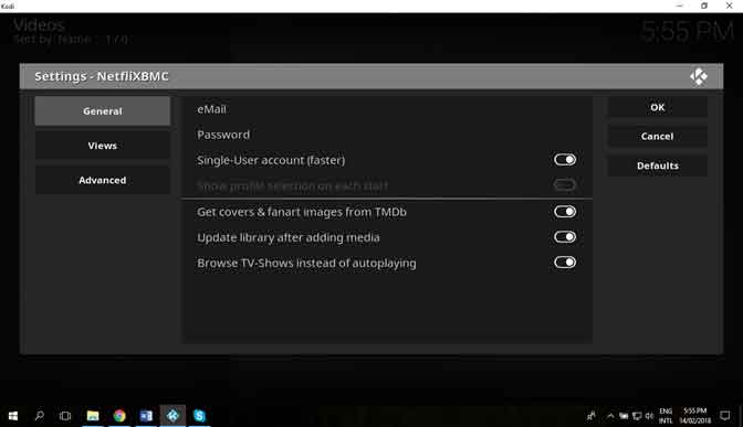 How to Install Kodi Netflix Add-on on Windows