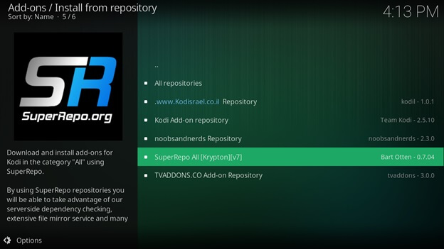 tubi tv kodi repository
