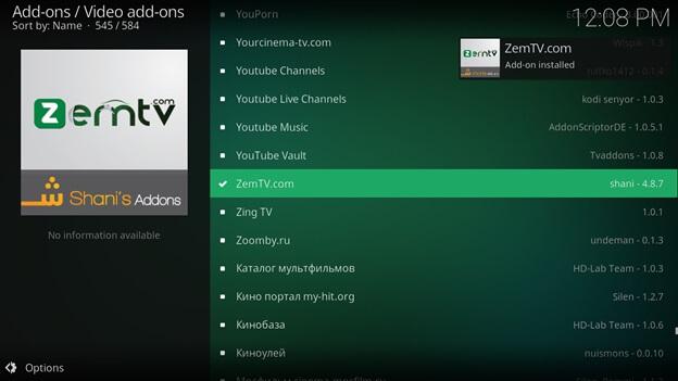 zem tv not working