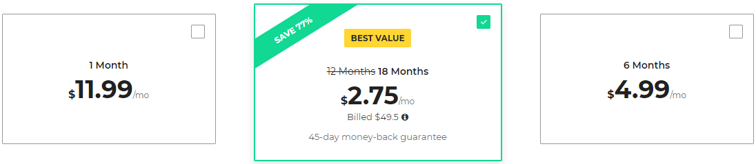 cyberghost pricing review