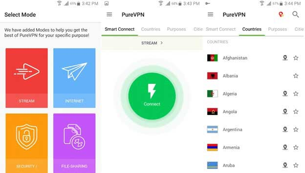 PureVPN-Android-App-Review