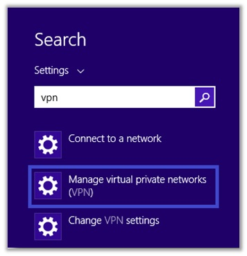 How Can I Configure a VPN on My Windows 8 OS
