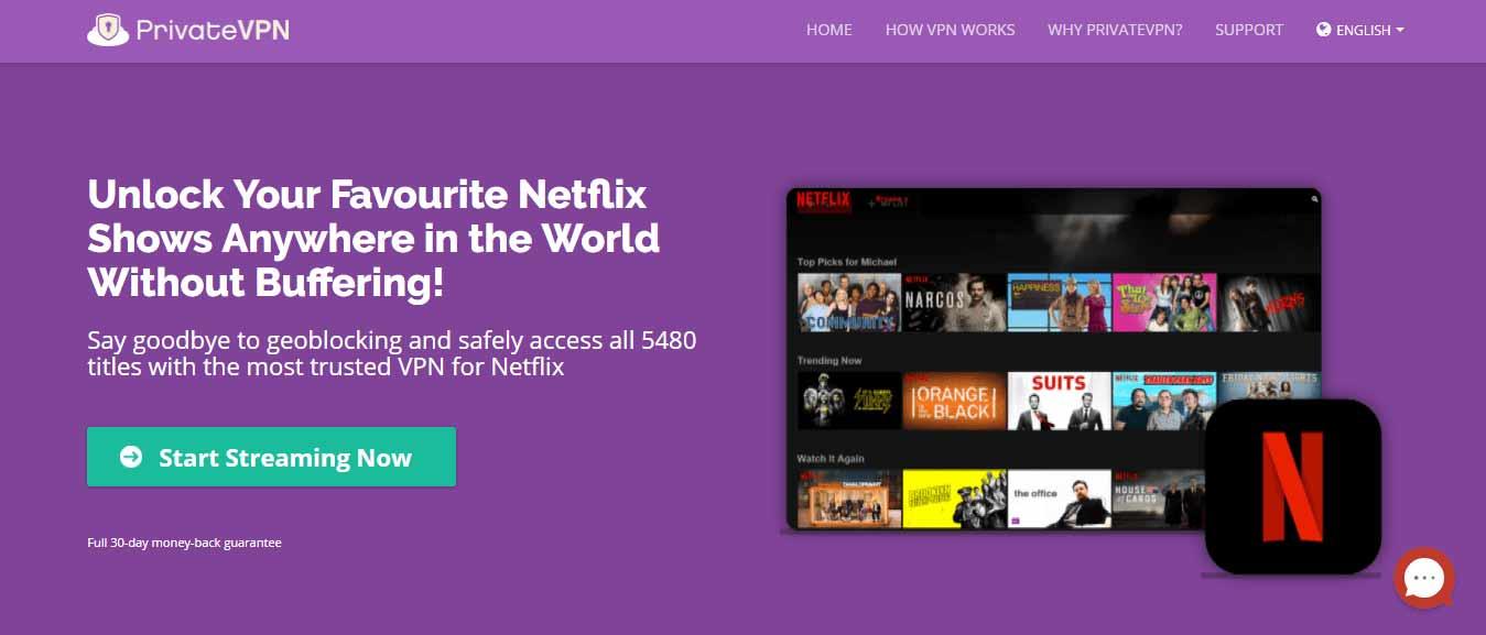 Does PrivateVPN Work On Netflix?