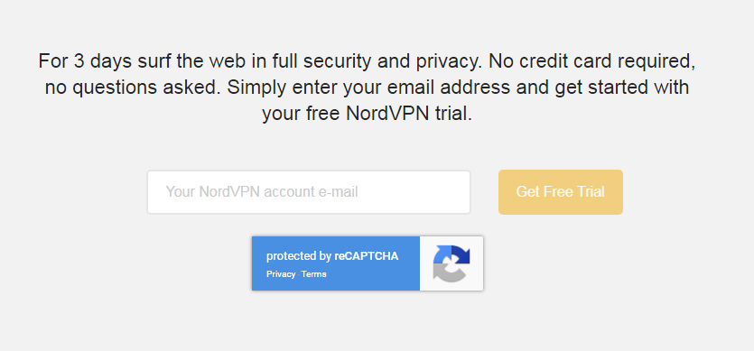 NordVPN Trial Period Review