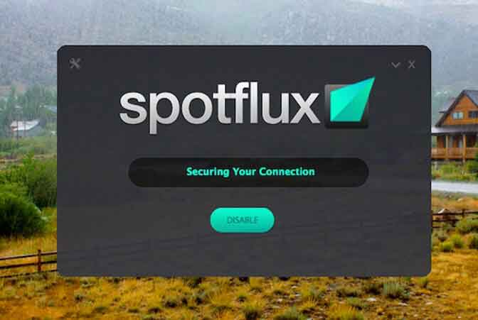 Spotflux Lite Free VPN for Windows 7
