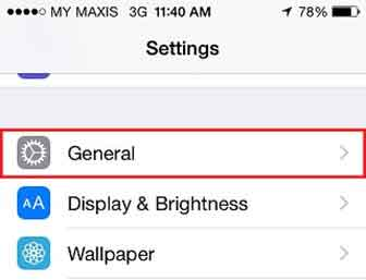 iPhone VPN Settings – PPTP Protocol