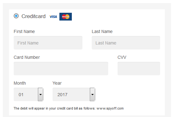 spyoff-payment-methods