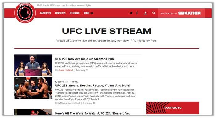 ufc 222 on MMA Mania