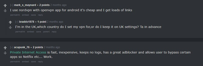 Best VPN for Firestick Reddit Reviews