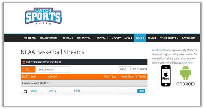 How to Watch NCAA Basketball Online Live Free Stream Without Cable
