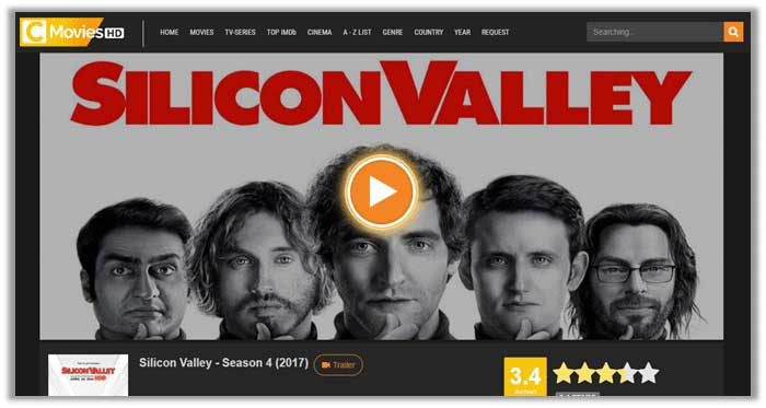 silicon valley on CMoviesHD