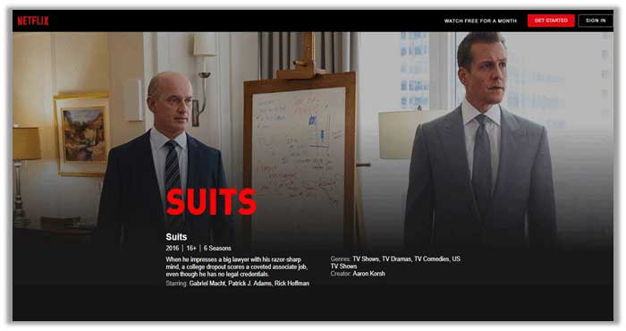 Watch Suits season 7 on Netflix