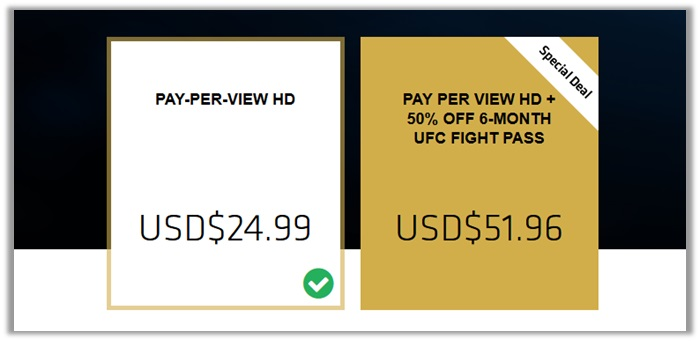 Cheapest Way to Watch UFC 222