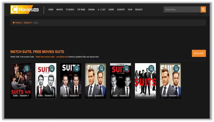 Watch Suits season 7 on CmoviesHD