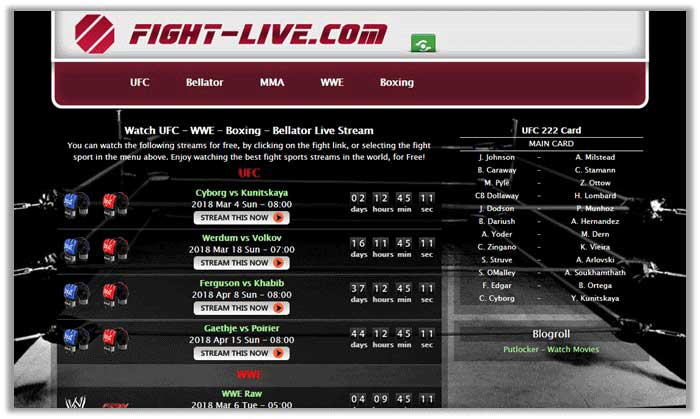 How to Watch UFC 222 Live Online Free Streams