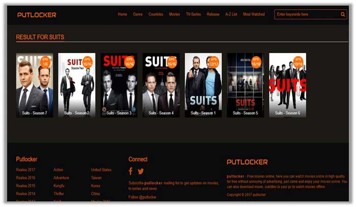 Watch Suits season 7 on Putlocker