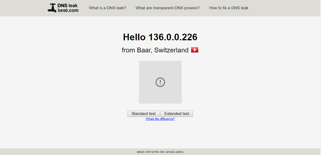 ExpressVPN DNS leak test for torrenting and p2p file sharing