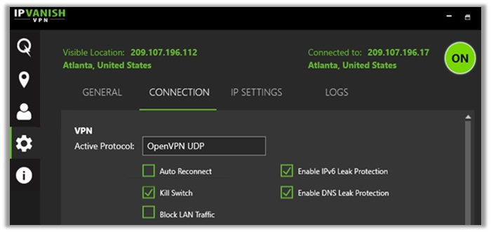 IPVanish Not Connecting