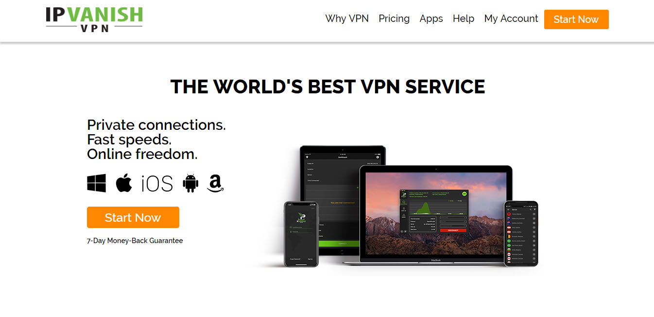 IPVanish for torrenting and p2p file sharing