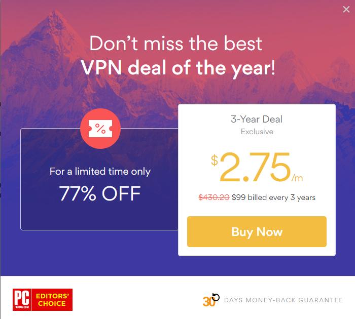 Nord VPN Offer