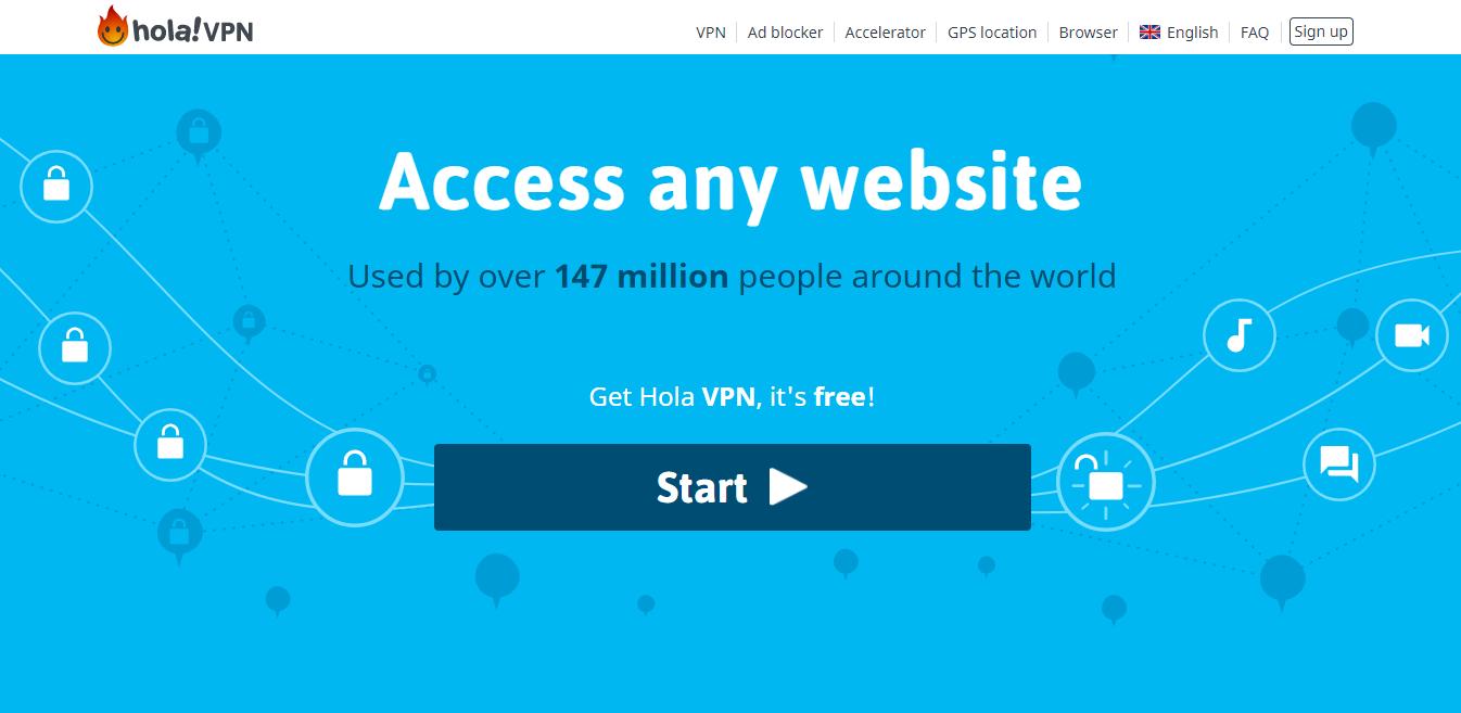 worst vpn for torrenting free is hola