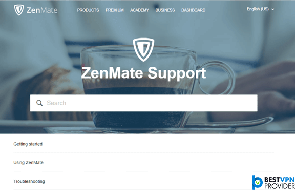 Zenmate-Support-review