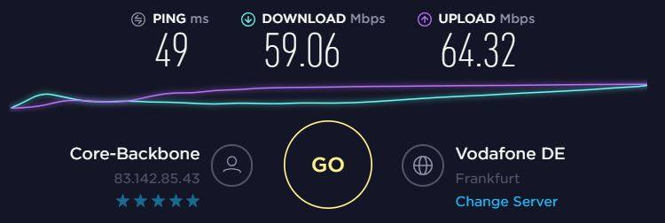 purevpn speed test for torrenting and p2p file sharing