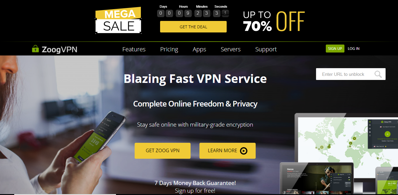zoog vpn free for torrenting and p2p file sharing