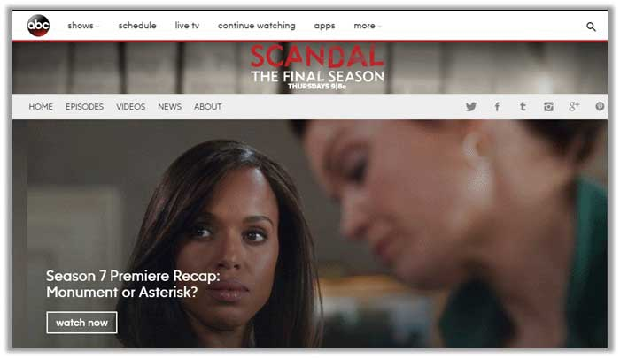 How to Watch Scandal Online Without Cable