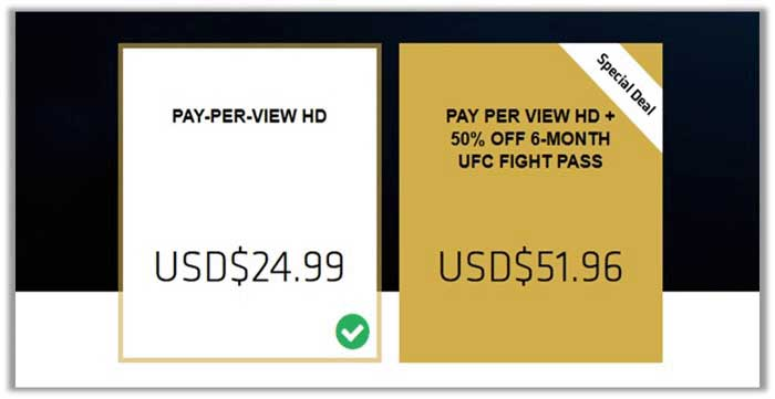 Cheapest Way to Watch UFC 223 Holloway vs Khabib Fight