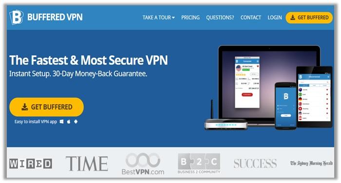 Buffered VPN for Streaming