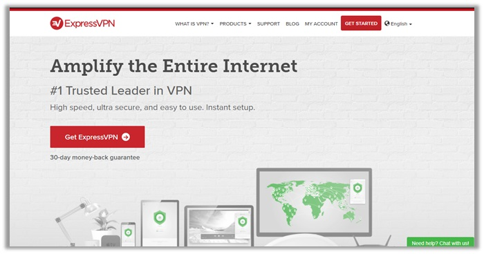 ExpressVPN for Firefox