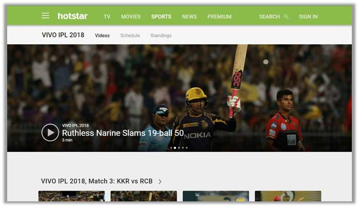 How to Watch IPL 2018 on HotStar in USA