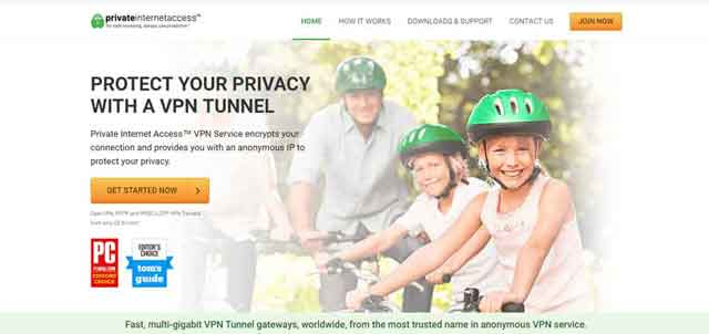 Private Internet Access for India