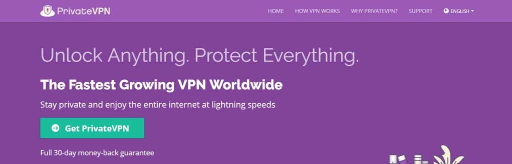 PrivateVPN for Europe