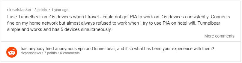 tunnelbear reddit