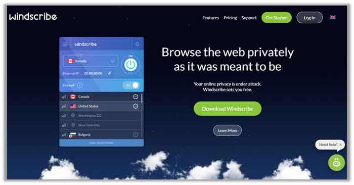 Windscribe for Ubuntu