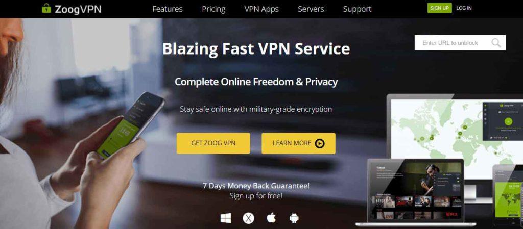 Zoog VPN for Browser
